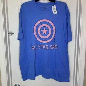 Marvel All-Star Dad Tee